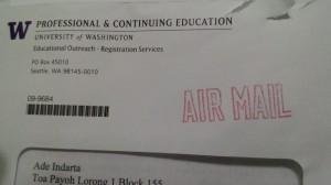 Professional and Continuing Education University of Washington